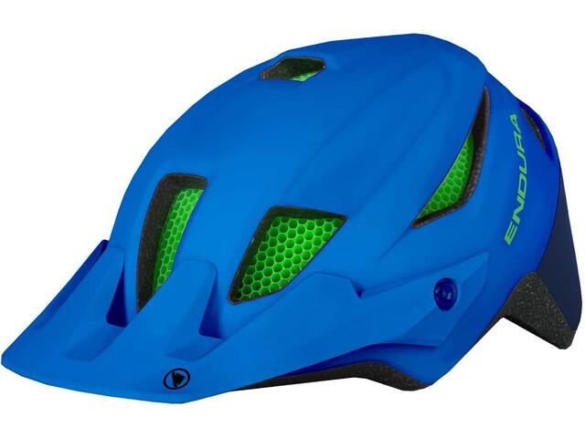 Endura MT500 Casco Bambino, azure blue